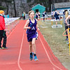 Brattleboro Union High School hosts a track meet on Thursday, April 12, 2018.