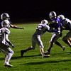 KRISTOPHER RADDER — BRATTLEBORO REFORMER<br /> Brattleboro beats Fair Haven 41-6 in the semifinals Division 2 playoff game at Brattleboro Union High School on Friday, Nov. 1, 2019, to head to a championship game for the first time since 1973