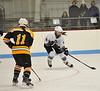KRISTOPHER RADDER - BRATTLEBORO REFORMER<br /> Brattleboro takes on Burr & Burton during a hockey game on Saturday, Dec. 10, 2016.
