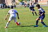 Brattleboro varsity soccer team beat Hartford 3-2 during Saturday's homecoming game at Brattleboro Union High School. Kristopher Radder / Reformer Staff
