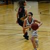 KRISTOPHER RADDER - BRATTLEBORO REFORMER<br /> Brattleboro's Brenna Harris steals the ball during a basketball game against Mt. Anthony Union on Thursday, Feb. 23, 2017. Brattleboro would win 47-42.