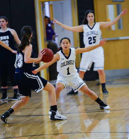 Brattleboro vs. Burlington: Girls Basketball