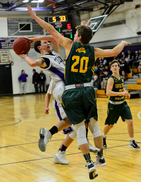 Brattleboro vs Burr and Burton: Basketball