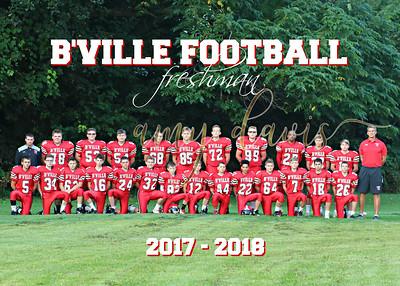 bville freshman football 2017
