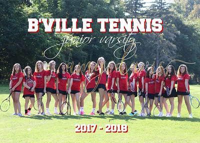 bville tennis 2017 - 2018