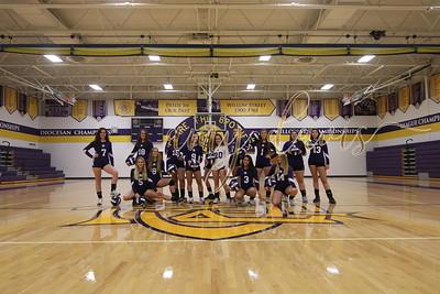 CBA girls volleyball 2017 - 2018
