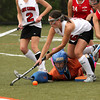 FH_UD CBE_5153   Upper Dublin's Samantha Boyd looks to score while Central Bucks East's goalie, Emily Guthier, is down.     Bob Raines 10.24.11