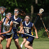 3w40cWissahickon's Samantha Stutman heads for the goal chased by Cheltenham's Rachel McManus.<br /> Bob Raines 5/7/10