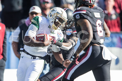 South Florida Bulls face South Carolina Gamecocks for the 11th Annual Birmingham Bowl on Thursday December 29, 2016 at Legions Field in Birmingham, Al.
