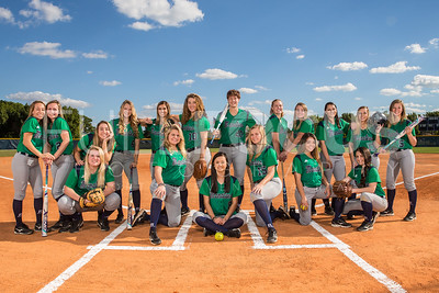 SCF's softballl head shots, indivisual, and team photography