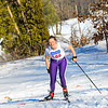 KRISTOPHER RADDER - BRATTLEBORO REFORMER<br /> Varsity boys and girls compete in the cross-country skiing competition at the Brattleboro Country Club on Wednesday, Feb. 14, 2018.