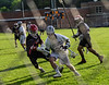 Brattleboro boys' varsity lacrosse team played against Rutland during a match on Tuesday, May 24, at Brattleboro Union High School. Rutland went on to beat Brattleboro 18-7. Kristopher Radder / Reformer Staff