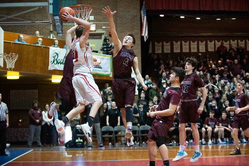 KELLY FLETCHER, REFORMER CORRESPONDENT -- Twin Valley and Proctor battled it out for the D-4 state championships on Saturday in Barre.  Proctor took the win 65-50.