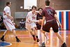 KELLY FLETCHER, REFORMER CORRESPONDENT -- Colin McHale drives the ball down the court for Twin Valley during their state championship game against Proctor in Barre on Saturday.