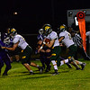 KRISTOPHER RADDER - BRATTLEBORO REFORMER Bellows Falls football team was handed a tough loss against Burr and Burton on Friday, Sept. 15, 2017.  Bellows Falls lost 23-6.