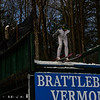 KRISTOPHER RADDER - BRATTLEBORO REFORMER<br /> Skiers practice early Saturday before the start of competition at the Harris Hill Ski Jump in Brattleboro, Vt., on Saturday, Feb. 18, 2017.