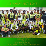 PROWAY Hot Boyz, Passing Down, 7on7, High School Elite, Southern California Regional Champions, QB: Jack Alexander, DB: Elijah Doyle,