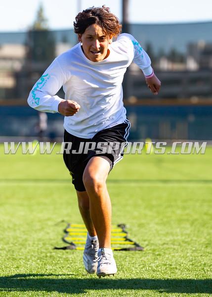 Premier Sports & Training workout at East LA College, Monterey Park, 12/08/2018