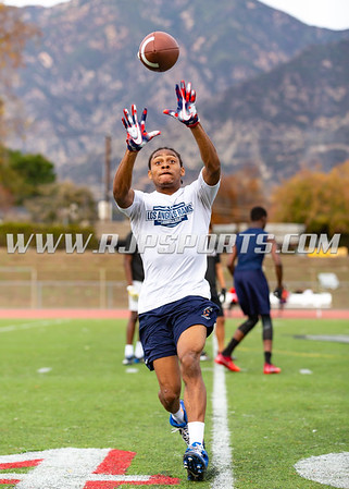 Premium and  Team D1 San Gabriel Valley 7v7 Workout, 12/09/2018