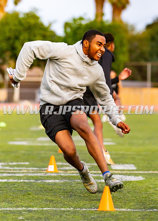 Proway 7v7 Evaluations at John Muir High School, 12/09/2018