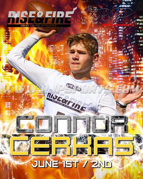 Connor Cerkas, Quarterback, 2022