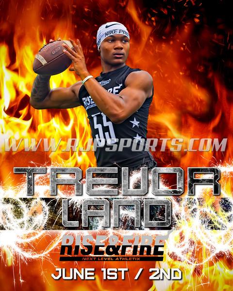 Trevor Land, Quarterback, 2020