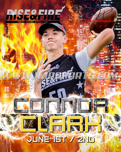 Connor Clark, Quarterback, 2022