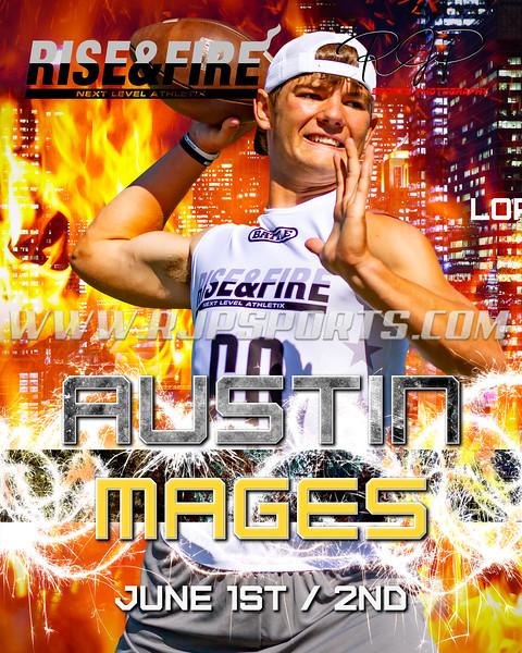 Austin Mages, Quarterback, 2021
