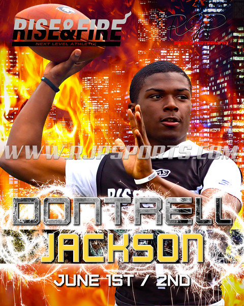 Dontrell Jackson, Quarterback ,2022