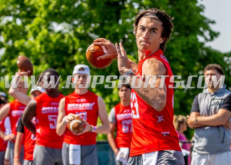 Blaise Reichert, Quarterback, 2020, Lyons Township