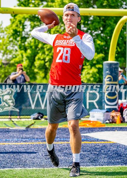 Brooks Blount, Quarterback, 2020, Waukesha West HS
