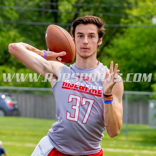 Angelo Donato, Quarterback, 2021, Wake Christian Academy