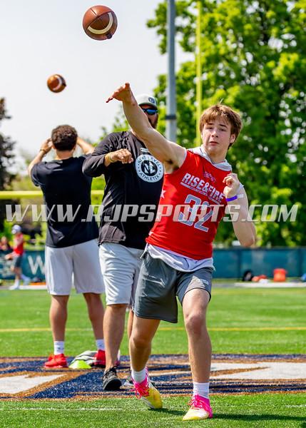 Aidan Voss, Quarterback, 2022, Joliet Catholic Academy