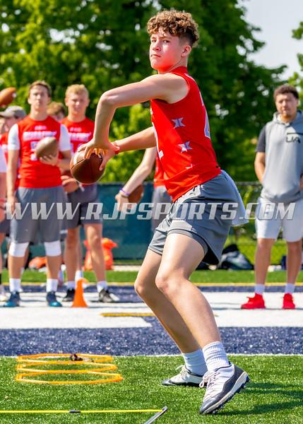 Chase Spellman, Quarterback, 2023, Kettle Moraine