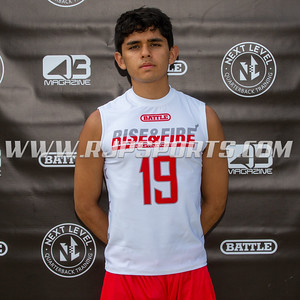 Julian Ruiz, Wide Receiver, Tight End, 2021, Hobart High School