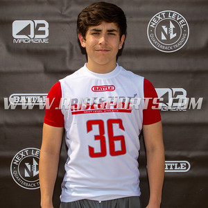 Adam Alcantar, Wide Receiver, Tight End, 2022, Gurdon Hubbard High School