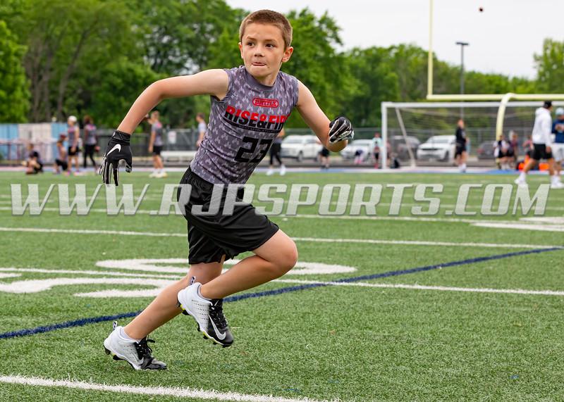 Owen Andryzak, Linebacker, Defensive Back, Patriots Youth Tackle