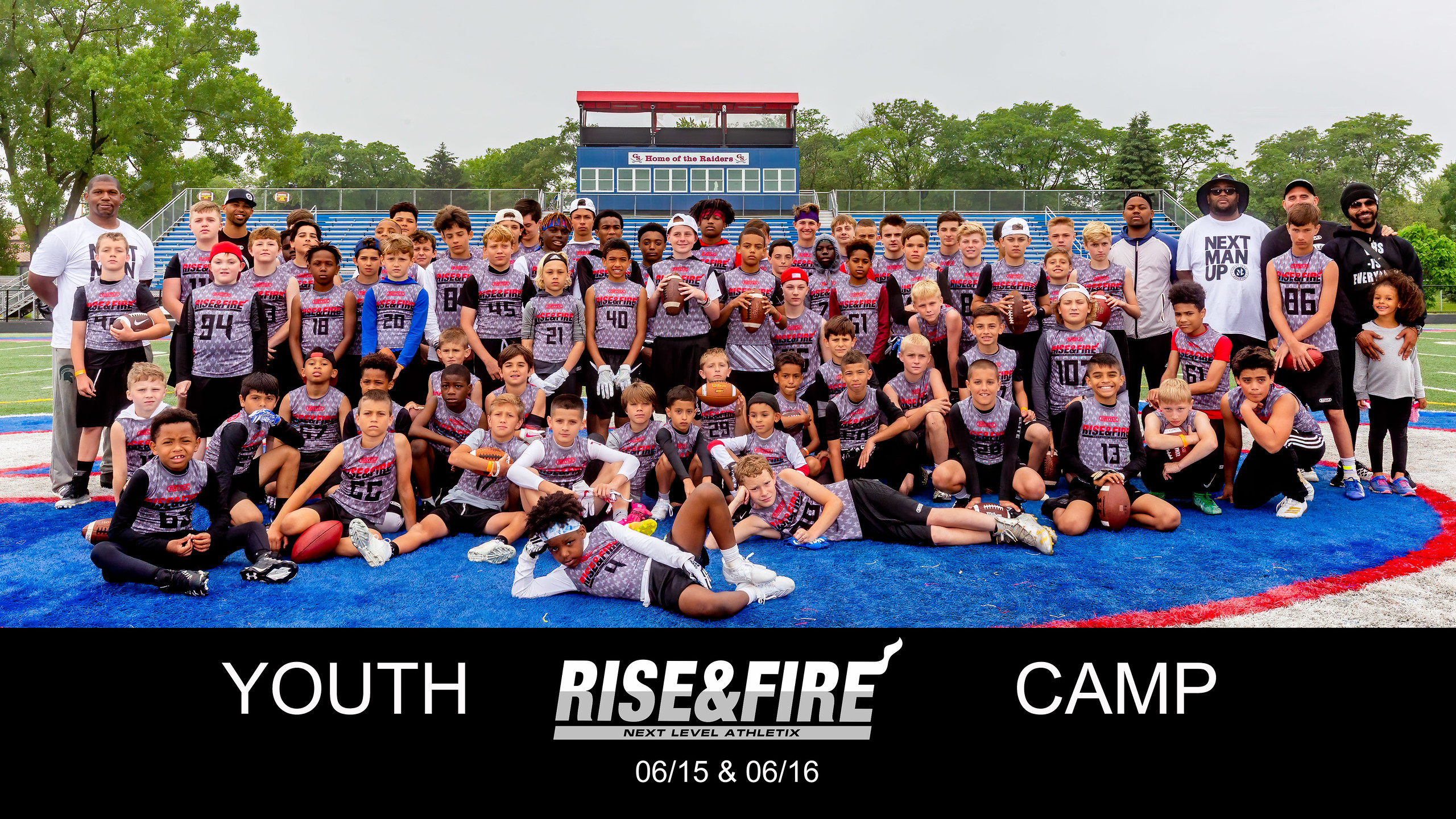 2019 Rise and Fire Chicago Youth Camp