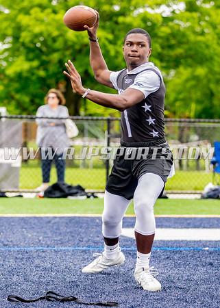 Dontrell Jackson, Quarterback, Class of 2022, Marist High School