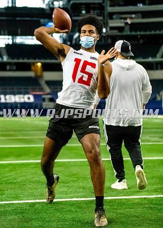 Jalen Cunningham, Quarterback, 2021, South Holland, IL