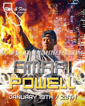 Amari Powell, Quarterback, 2022