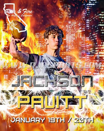 Jackson Pavitt, Quarterback, 2020