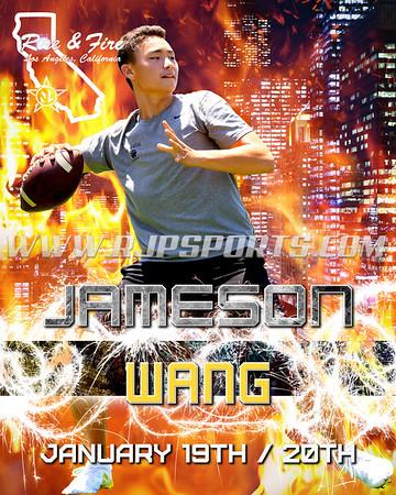 Jameson Wang, Quarterback, 2020