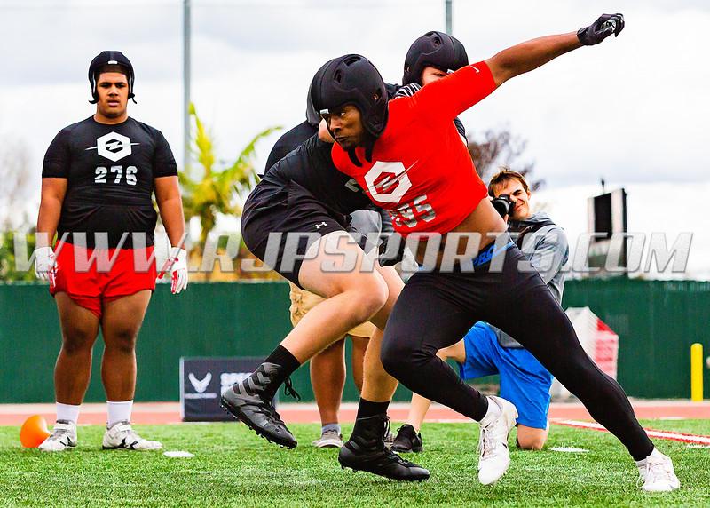 Jordan Banks, Linebacker, Narbonne, CA, 2020