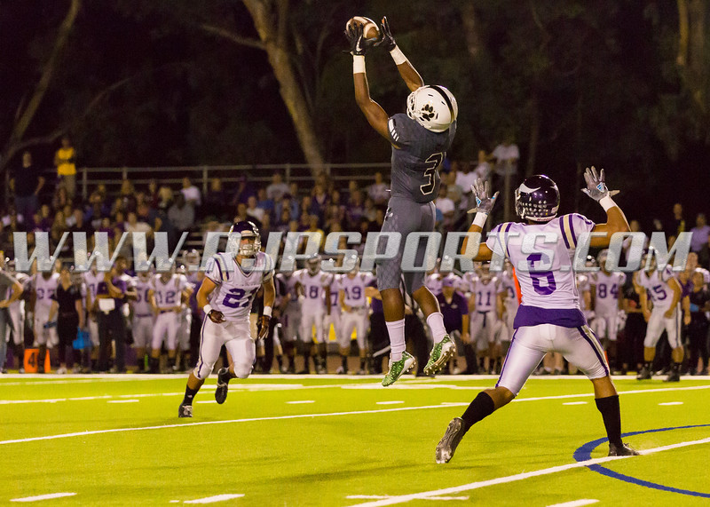 Calabasas Coyote Nikko Hall (3, WR/S) with the Reception