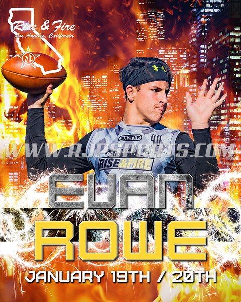 Evan Rowe, Quarterback, 2020