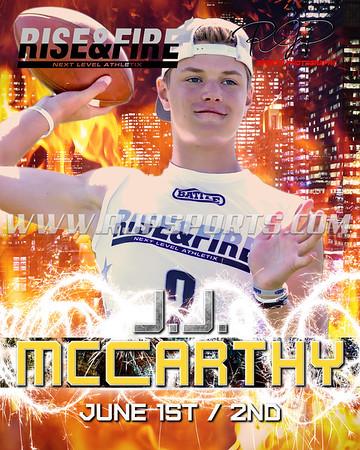 JJ McCarthy, Quarterback, 2021
