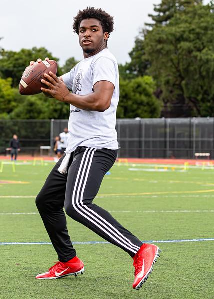 Raymond Price III,  Quarterback, 2021