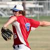Roslyn starting pitcher Christian Salem.<br /> Bob Raines 7/11/11