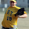 Fort Washington's Jesse Kohler pitches against Roslyn.<br /> Bob Raines 7/11/11